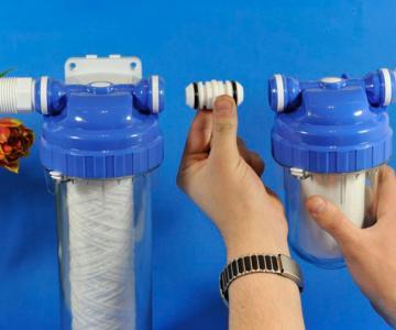 особенности подключения фильтра очистки воды советы по выбору